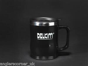 Delkim Logo Reise Becher (Edelstahl Thermo) /Zubehör/Fischen