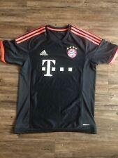 FC Bayern Munchen T Mobile Adidas ClimaCool  Soccer Jersey Mens Size Medium Blue