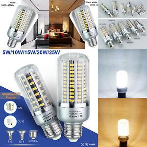 1/4x LED Leuchtmittel Mais Licht GU10 E14 E27 10W Maisbirnen Aluminium SMD5736