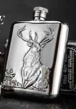 Luxury HQ Beautiful Hip Flask Whisky Vodka Bottle Wild Animal Series Deer