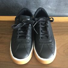 Nike Low-Top Sneakers for women - Size 8.5 - Black Leather - NWT
