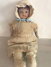 Antique Composition Doll Well Loved
