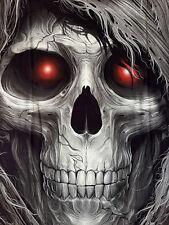 Terminator Harley Skull t-shirt talla S M L XL HD camisa Black vívido en el oscuro