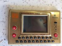 Sinitron Shuttle Voyage MG8 1983 Vintage LCD Handheld Electronic Game