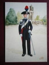 POSTCARD THE CARABINIERI OF ITALY CABABINIER FULL DRESS TURIN 1933