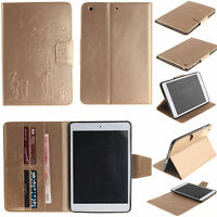 PortFolio Embossing Dandelion Leather Wallet Card Stand Case Cover Skin TabletTX