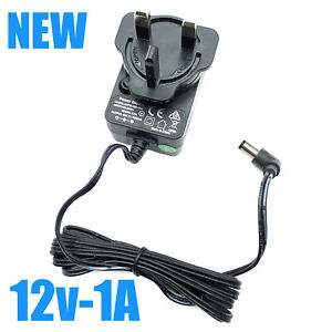 NEW AC Adapter ICP12-120-1000 Power Supply Multi-blade interchangeable UK plug