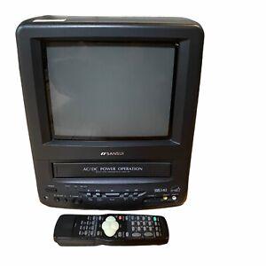 """Sansui 9"""" TV VCR Combo COMO961B VHS"""