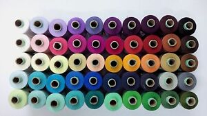 800 meter 50 Colors 2 ply Spun Polyester Sewing Machine Quilting Thread 875 Yard