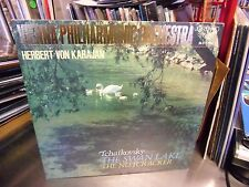 TCHAIKOVSKY Swan Lake/Nutcracker LP EX London JAPAN Herbert Von Karajan 1968