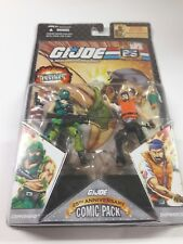 COPPERHEAD & SHIPWRECK GI JOE COMIC PACK 25th Anniversary NEW Action Figure Toy