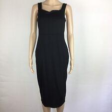 ead82ad544a ASOS Maternity Little Black Sheath Dress Stretch Size 10 Viscose Blend NWT  (AK8)