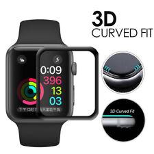 ✅Apple Watch 4 44mm 3D FULL COVER Schutzglas 9H VOLLKLEBEND Display Schutzfolie✅