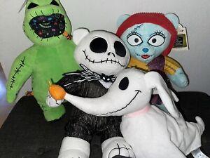 Build A Bear The Nightmare Before Christmas Jack Sally Oogie Boogie Zero Plush