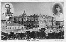 POSTCARD   ROYALTY     SPAIN    MADRID   Royal  Palace