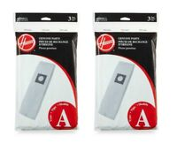 6 Pack Hoover Type A Vacuum Cleaner Bags 4010001A GENUINE
