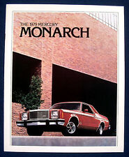 Prospekt brochure 1979 Mercury Monarch (USA)