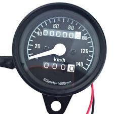 Motorcycle Motor Bike LCD Digital Dual Speedometer Odometer 140km/h