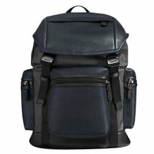 🌻 Coach F57477  🌻 Terrain Trek Backpack Bag Navy NEW AUTH🌻