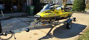 """2001 Sea Doo RXDI 9'5"""" Jet Ski & Trailer - North Carolina"""