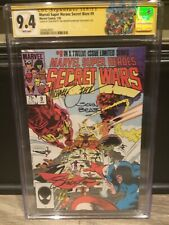MARVEL SUPER HEROES SECRET WARS #9  CGC SS 9.4 -SIGNED 3x ZECK, BEATTY, SHOOTER