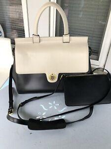 [Jemma] EMMA 37  Leather functional & elegant bag,travel Handbag!