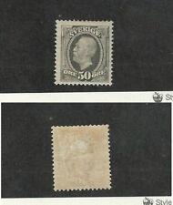 Sweden, Postage Stamp, #64 Mint Hinged, 1904