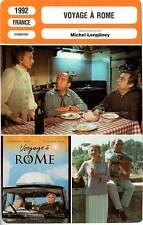 FICHE CINEMA : VOYAGE A ROME - Jugnot,Flon,Lengliney 1992
