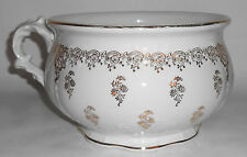 Vintage Homer Laughlin Gold Decorated Chamber Pot BUY-IT-NOW