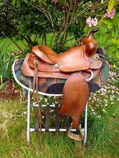 "14"" Simco 7300 Western Saddle Lightweight"