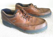 Ecco Mens shoes 49 track brown goretex waterproof made Slovakia low US 15 / 15.5