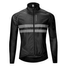 Long Sleeve Cycling Jerseys Reflective Bike Bicycle Clothing Jackets Tops
