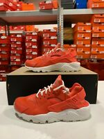 Nike Women's Air Huarache Run SE Running Shoes Rush Coral 859429-800 NWOB