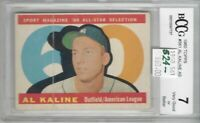 AL KALINE DETROIT TIGERS Hall Of Fame 1960 TOPPS #561 BV $50