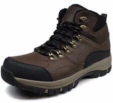 Mens Eddie Bauer® Brad Leather 100% Waterproof Hiking Boots Med Width $95 Sz 8.5