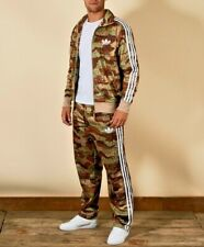 Adidas Originals Camouflage Track Pants Jacket Suit Army Mens Camo Military Set