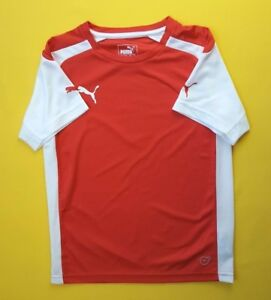 Puma shirt kids medium height 140 cm jersey + shorts soccer football ig93