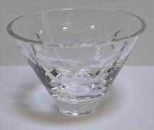 Vintage Stuart Crystal Cut Glass Martini Shaped Large Sundae Bowl – Lovely
