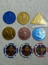 2019 Krewe Of Thoth Doubloon Set Of 9 New Orleans Mardi Gras