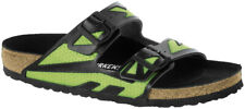 Birkenstock Sandale Arizona Rubberized Grün Microfaser Schmal Unisex