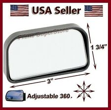 ADJUSTABLE SIDE AUXILIARY BLIND SPOT WIDE VIEW MIRROR X SMALL REARVIEW CAR-TRUCK