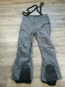 Mens The North Face Hy Vent Snow/Ski/Snowboard Pants Gray Size 2XL