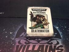Warhammer 40k Deathwatch Army Datacards Tactical Objectives Still In Shrinkwrap