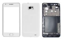 Façade / Coque / Cover (Blanc) ~ Samsung (GT) i9100 / Galaxy S2