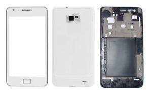 Fassade/Hülle/Cover (Weiß) ~ Samsung Gt i9100 Galaxy S2