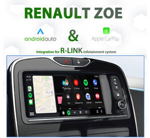 Renault ZOE Apple CarPlay & Android Auto Integration for R-Link