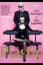 Melissa Magazine Plastic Dreams,Karl Lagerfeld,Cara Delevingne,Inez van Vinoodh
