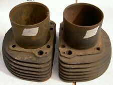 1956-59 AJS Matchless G11 600cc 7 fin pair cylinders O