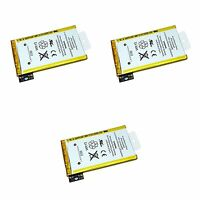 Lot of 3 iPhone 3GS OEM Original Replacement Battery 1220mAh 616-0435 16GB 32GB