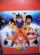Dragonball DBZ Dragon Ball Kai Z GT Poster - Evil Buu Saga- Guko, Vegeta, Buu